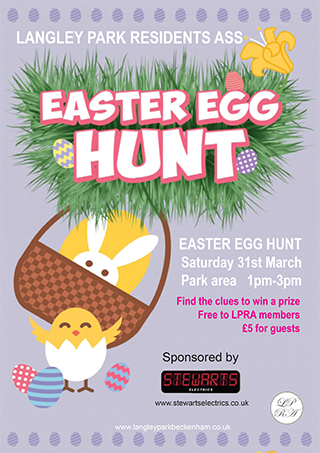 Langley Park Easter Egg Hunt 2018